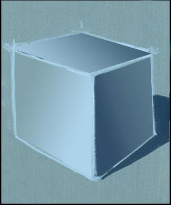 Cube render