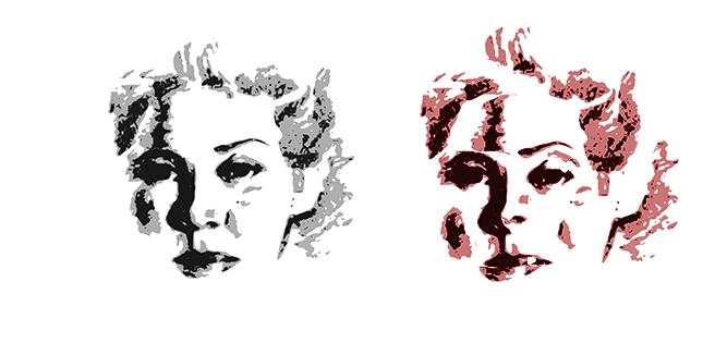 distortedsmall contour