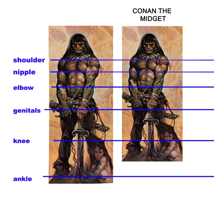 Conan the midget